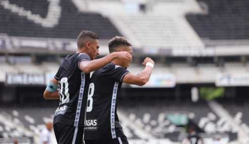 Botafogo faz 10 a 0 no Castelo e avança na Copa do Brasil Sub-20