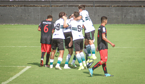 Coritiba atropela União-MT e garante vaga nas oitavas da Copa do Brasil  Sub-20