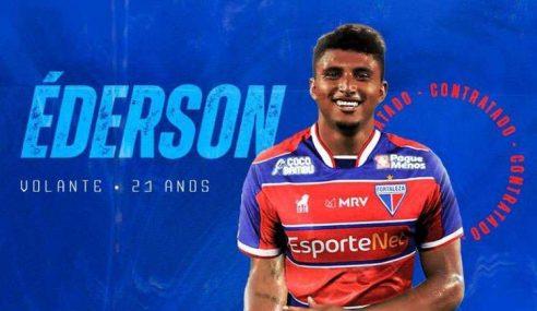 Éderson é emprestado pelo Corinthians ao Fortaleza