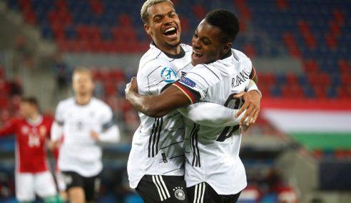 Alemanha começa isolada na liderança do Grupo A da Euro Sub-21