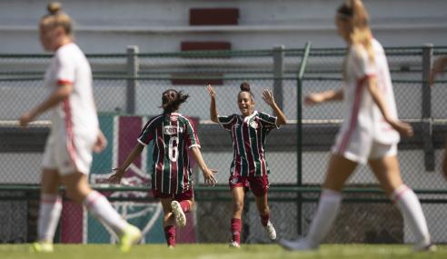 Com gol nos acréscimos, Fluminense vence Inter na ida da final do Brasileirão Feminino Sub-18