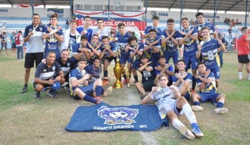 Federação remarca Sul-Mato-Grossense Sub-17 de 2020 para a próxima semana