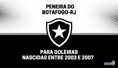Botafogo-RJ realizará peneira para goleiras