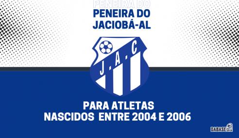 Jaciobá-AL realizará peneira para a equipe sub-17