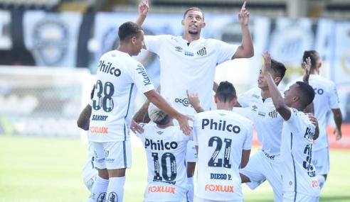 Santos foi o clube que mais usou a base no Brasileirão; veja detalhes