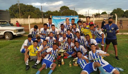 Castelo conquista o Tocantinense Sub-20 e vai à Copa do Brasil