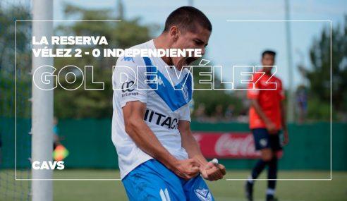 Brasileiro marca na vitória do Vélez pelo Argentino de Aspirantes