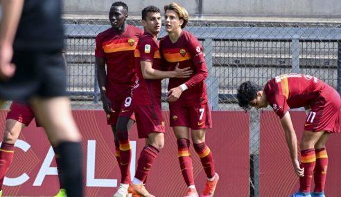 Roma vence lanterna e segue na liderança isolada do Italiano Sub-19