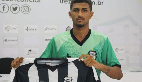 Artilheiro da Copa do Nordeste Sub-20 é o novo reforço do Treze