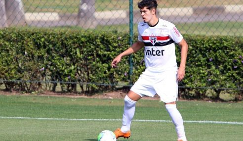 Zagueiro titular do sub-20 se despede do São Paulo