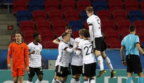 Alemanha escapa de derrota no fim e mantém liderança do Grupo A da Euro Sub-21