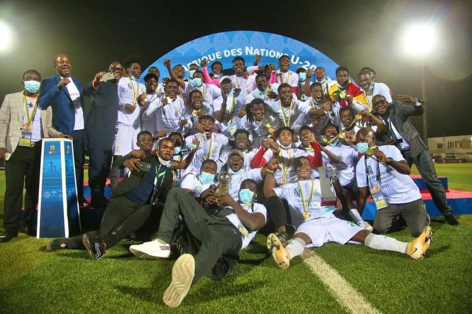 Gana vence Uganda e conquista título da Copa Africana de Nações Sub-20