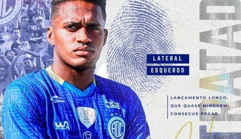 Confiança contrata lateral campeão brasileiro de aspirantes de 2020