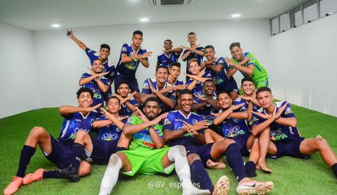 Nos pênaltis, São Raimundo-RR elimina Atlético-GO e avança na Copa do Brasil Sub-20