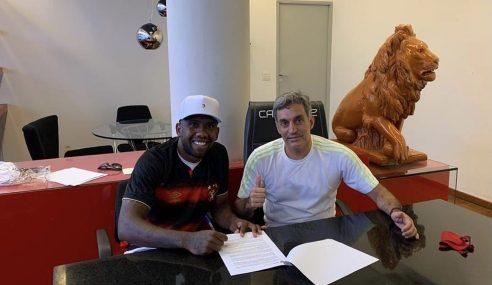 Sport oficializa contratação de atacante do São Paulo