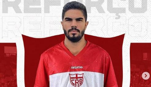 CRB anuncia contratação de zagueiro que estava no Anápolis