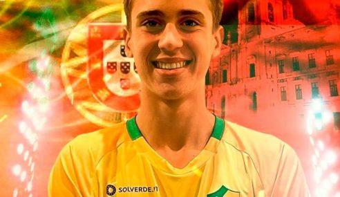 Filho do ex-goleiro Júlio César acerta com clube da segunda divisão portuguesa