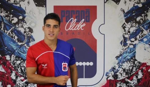 Paraná anuncia chegada de atacante para o time principal