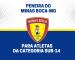 Minas Boca-MG realizará peneira para a equipe sub-14