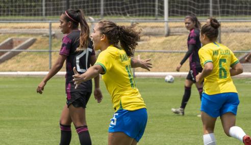 Seleção Brasileira Feminina Sub-20 repete placar e volta a vencer México em amistoso