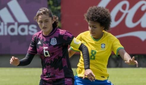 Seleção Brasileira Feminina Sub-20 vence México em amistoso