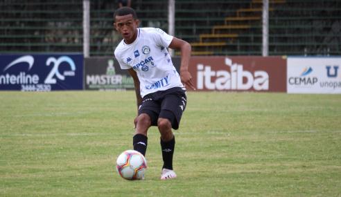 Flamengo fecha com lateral-direito do Tubarão para o time sub-20