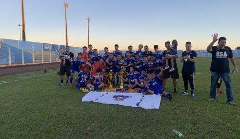 Grêmio Santo Antônio conquista título do MS Sub-17 de 2020