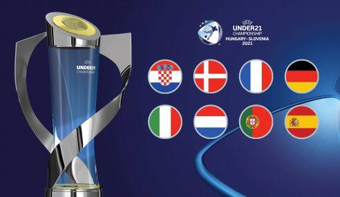 Definidas as quartas de final da Euro Sub-21
