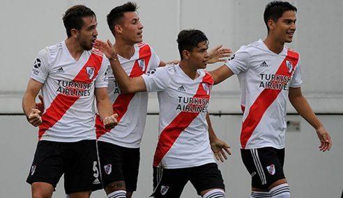 Único invicto, River Plate aplica goleada no Colón pelo Argentino de Aspirantes