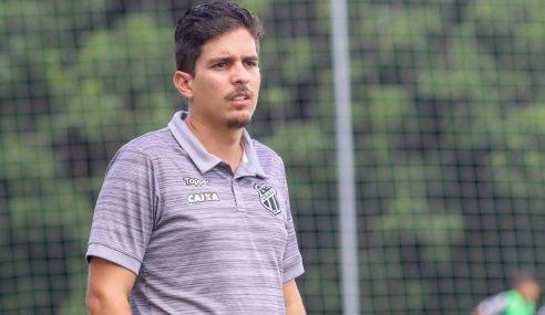 De volta ao Ceará, técnico Álvaro Martins fala sobre expectativa para o Brasileirão Sub-17