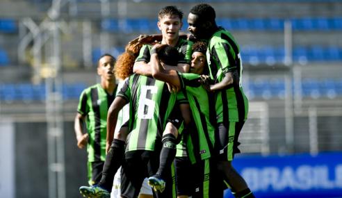 América vence Betis e mantém 100% no Mineiro Sub-20