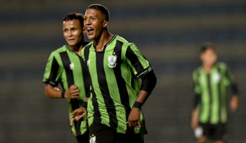 América-MG vence e passa Ceará no Grupo A do Brasileirão Sub-17