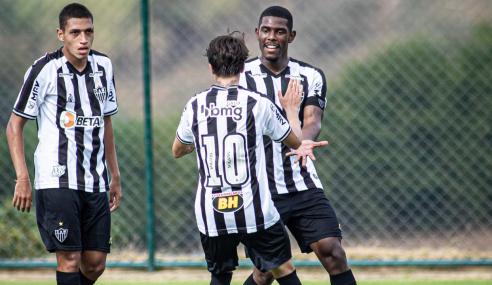 Atlético atropela Guarani e vence a segunda no Mineiro Sub-20