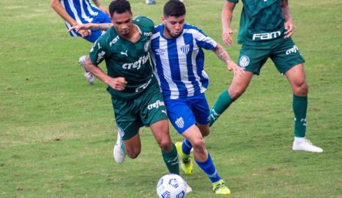 Avaí aproveita erro e vence Palmeiras nas quartas da Copa do Brasil Sub-20