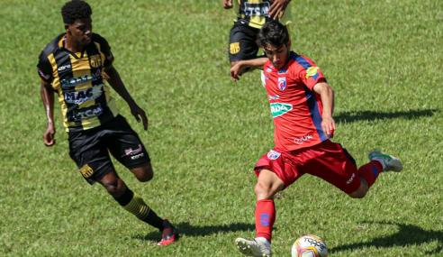 Fora de casa, Serranense derrota Betim Futebol pelo Mineiro Sub-20