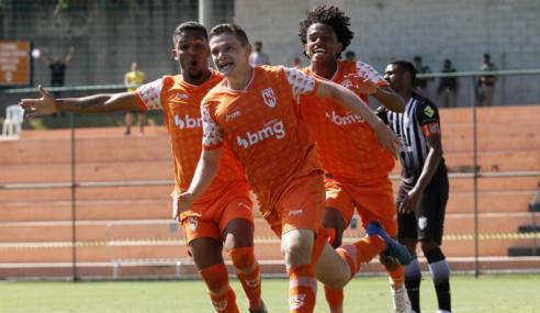De virada, Coimbra bate Tupi e vence a terceira no Mineiro Sub-20