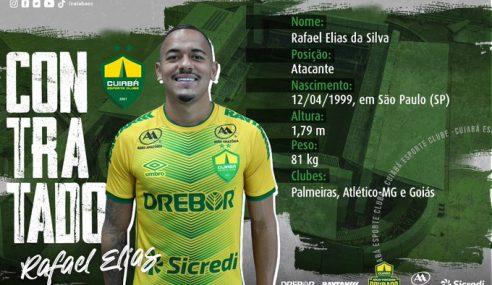 Palmeiras empresta Rafael Papagaio ao Cuiabá