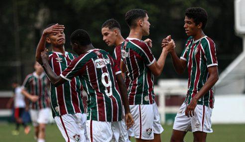 Fluminense goleia Sport e assume vice-liderança do Grupo B do Brasileirão Sub-17