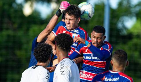 Com dois de Emerson, Athletico-PR vence Fortaleza fora de casa pelo Brasileirão Sub-17