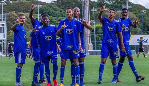 Cruzeiro goleia Ponte Preta em amistoso da categoria sub-17
