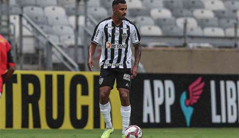 Londrina se aproxima de lateral-direito do Atlético-MG