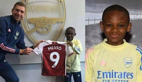 Arsenal-ING contrata joia africana de apenas 10 anos de idade