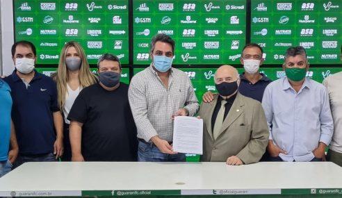 Guarani assina contrato para uso de novo Centro de Treinamentos da base