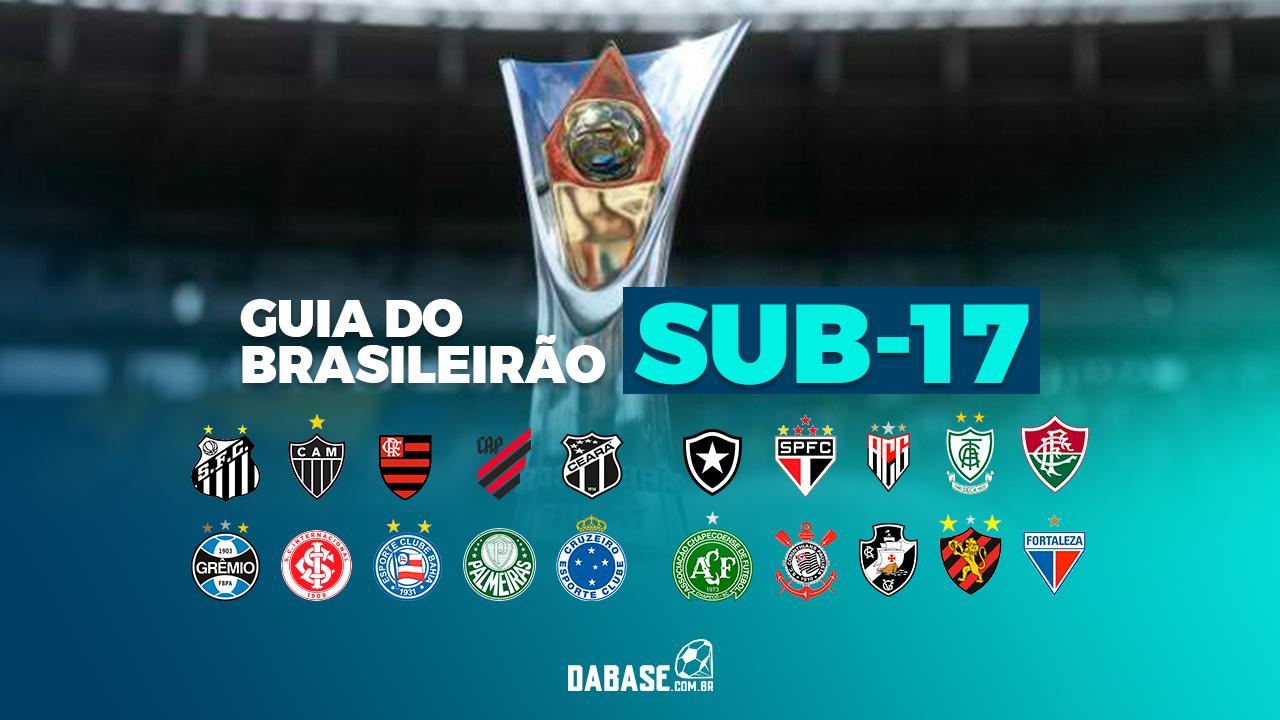 Confira o Guia DaBase do Brasileirão Sub-17