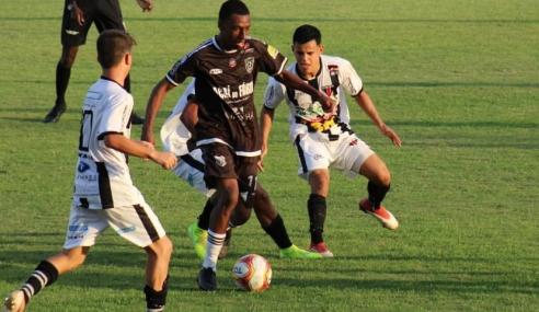 Figueirense estreia no Mineiro Sub-20 com vitória sobre o Nacional de Muriaé