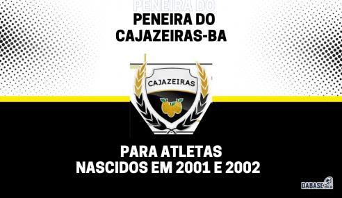 Cajazeiras-BA realizará peneira para a equipe sub-20