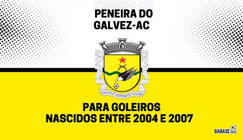 Galvez-AC realizará peneira para goleiros de duas categorias