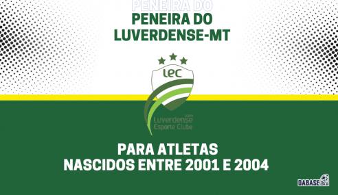 Luverdense-MT realizará peneira para a equipe sub-20