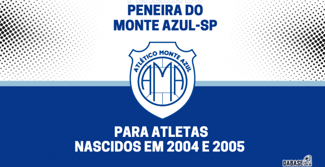 Monte Azul-SP realizará peneira para a categoria sub-17