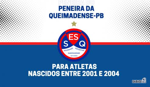 Queimadense-PB realizará peneira para a equipe sub-20